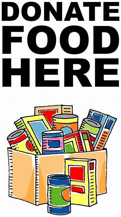 Canned Drive Clip Clipart Donations Pantry Bank