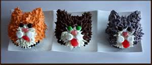 kitty cat cupcakes cup of kitty cupcakes