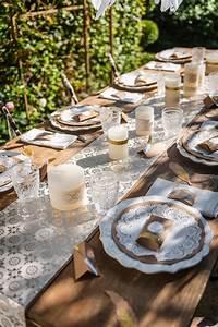 Lot D Assiette Pas Cher : 6 napperons dentelle blancs 21 5 cm ~ Melissatoandfro.com Idées de Décoration