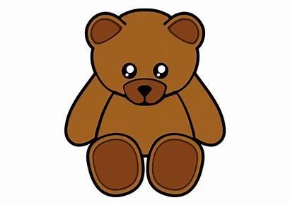 Teddy Bear Clip Clipart Cliparts Simple Computer