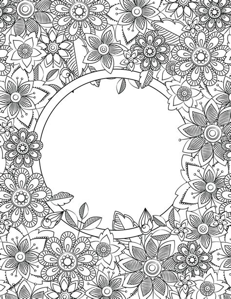 school binder cover adult coloring pages