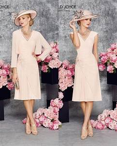 a line chiffon short knee length blushing pink summer With wedding dresses to suit short brides