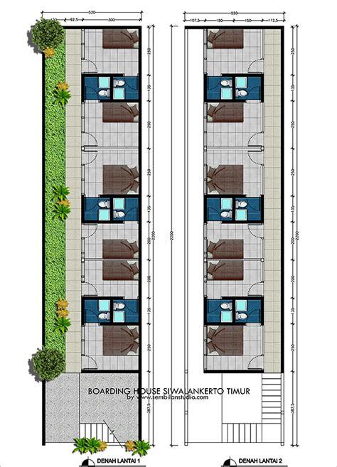 desain rumah empat kamar satu lantai