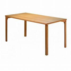 Table Bois Rectangulaire : table rectangulaire bois massif ~ Teatrodelosmanantiales.com Idées de Décoration