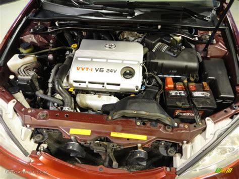 toyota camry xle   liter dohc  valve  engine