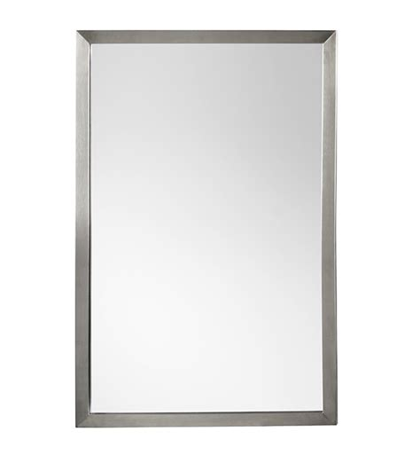 Chrome Framed Bathroom Mirror by Ronbow 603423 Pc Contemporary 23 Quot X 34 Quot Metal Framed