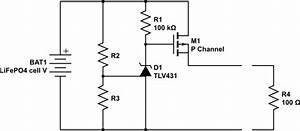 mosfet for reverse polarity protection of a lifepo4 With mosfet protection circuit