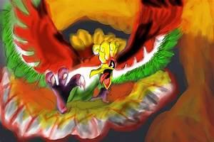 Ho-Ho The Legendary Fire Bird by predatorname on DeviantArt