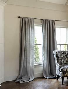 Double Rideaux La Redoute : le rideau en lin une belle d coration pour l 39 int rieur ~ Dallasstarsshop.com Idées de Décoration