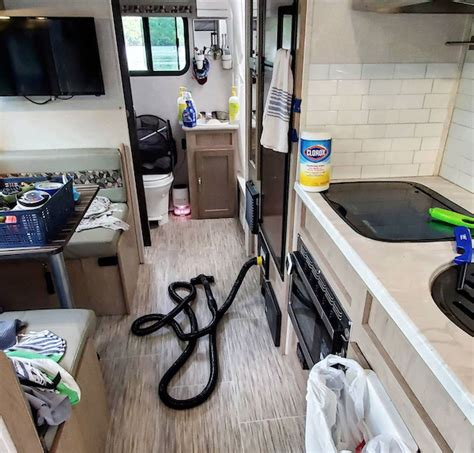 Recreational vehicles typically come with three tanks, located on the underside of the rv, to the black tank holds waste water from the toilet. 20 Tips & Tricks For Cleaning Your RV