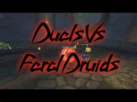 world  warcraft swifty duels  feral druids wow