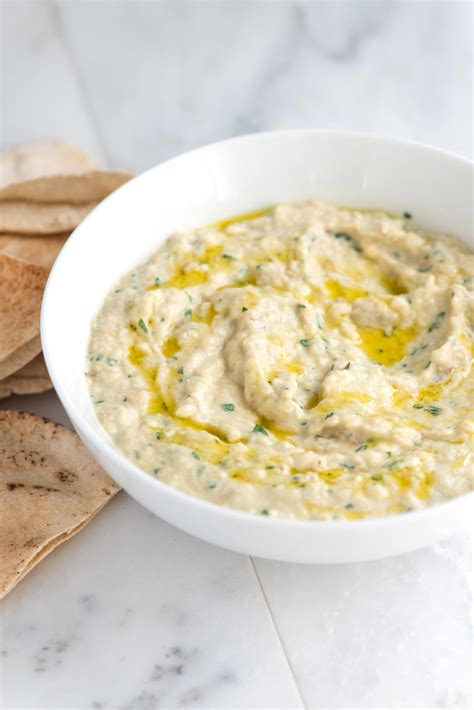 dips cuisine baba ganoush recipe amazing roasted eggplant dip
