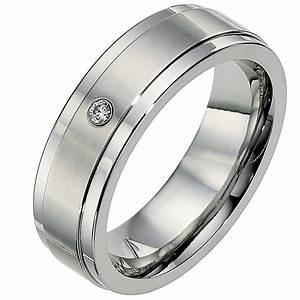 cobalt 7mm diamond matt polished wedding ring ernest jones With ernest jones mens wedding rings