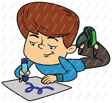 boy drawing clipart clipart suggest