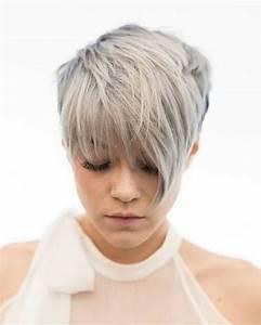 Coloration Cheveux Court : cheveux court avec meche impressionnant coupe courte originale femme 2018 coupe de cheveux ~ Melissatoandfro.com Idées de Décoration