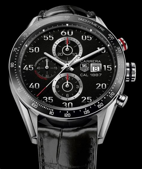 Tag Heuer Carrera Calibre 1887 Chronograph Watch For 2013
