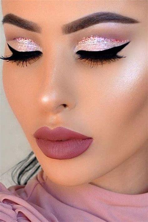 berry lips  smokey eyes  sparkling eyeshadow  perfect  holiday season check