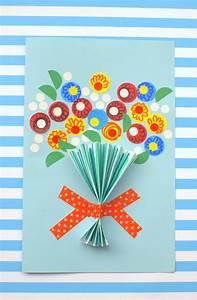 Floral Handmade Mother's Day Card - diycandy.com