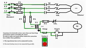 Collection Of Start Stop Push Button Station Wiring