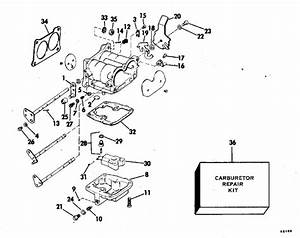 Johnson Carburetor Parts For 1978 140hp 140ml78c Outboard