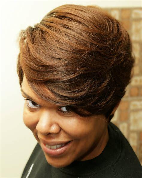 quick weave hairstyles   posh women