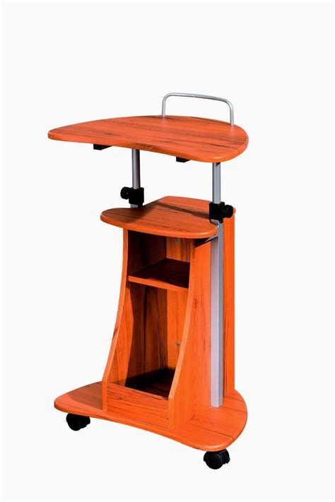standing desk with storage details about mobile laptop desk rolling cart pad table
