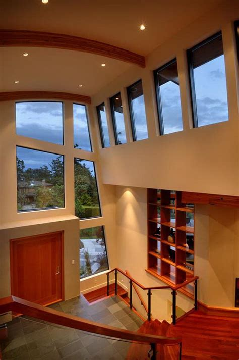 contemporary wooden  glass house designs  keith baker