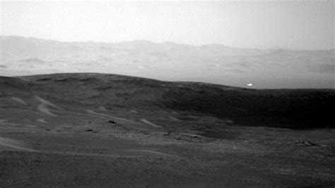 Mars Light by Nasa S Curiosity Rover Snaps Image Of White Orb Flying