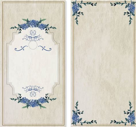 Literature Background Antique Watercolor Painted Lace Vector Fresh Background