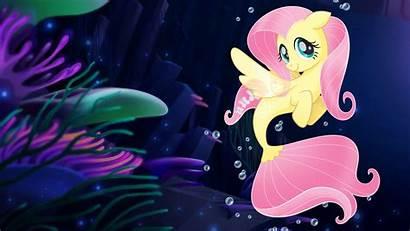 Pony Fluttershy Mermaids Seaponies Mermaid Mlp Wallpapers