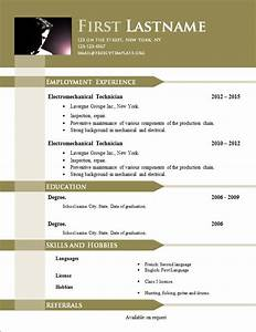 free cv templates 646 to 652 free cv template dot org With free resume templates doc