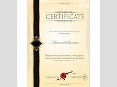 Certificate border template free vector download 19,024