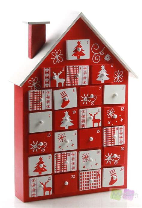 Pajoma Adventskalender Haus 82592  Holz Mit 24 Schubladen
