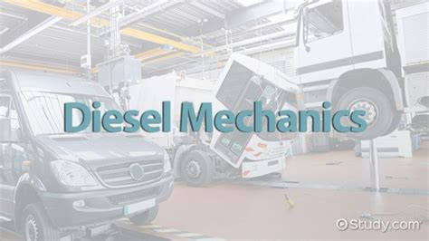 Diesel Mechanic Subjects by How To Become A Diesel Mechanic Education And Career Roadmap