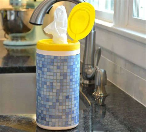wipes clorox decorated diy containers match decor disinfected