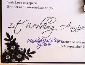 wedding anniversary wishes for friends happy 1st annivers With best wishes for first wedding anniversary
