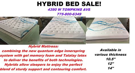 Huge Hybrid Mattress Sale! With Gel Cooling Technology