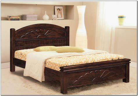 Wood Bed Frames For King Size Beds by King Size Bed Frame Wood Beds Home Design Ideas