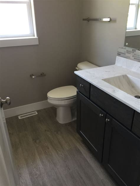 bathroom  coretec flooring  plymouth oak luxury