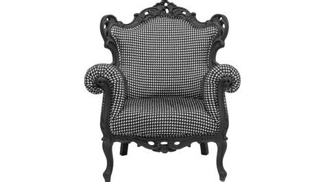 canap design fauteuil baroque posh pepita kare design fauteuils