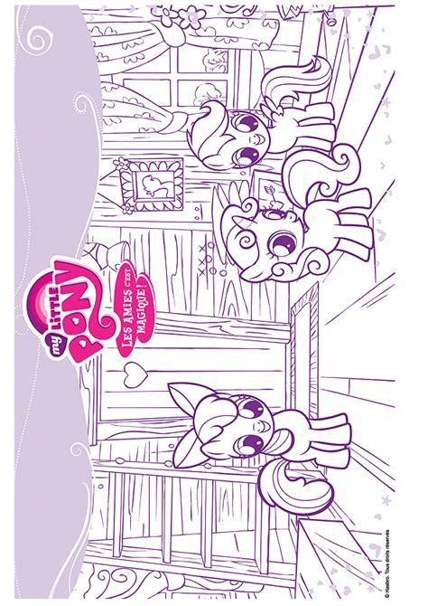restaurant cuisine du monde coloriage my pony les chercheuses de talent