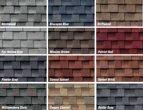 architectural shingles colors best design images of