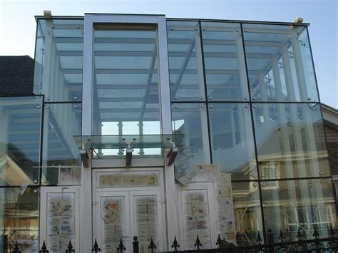 point supported glass curtain wall glass curtain wall