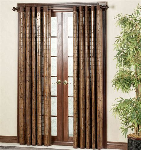 bamboo door curtains decorative curtains in doorways by your own ideas