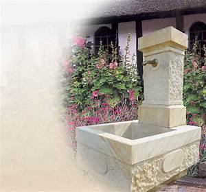 Holzwände Für Garten : brunnen aus sandstein f r den garten ~ Sanjose-hotels-ca.com Haus und Dekorationen