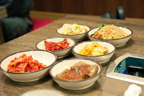 korean dishes side dish different variety simply discus
