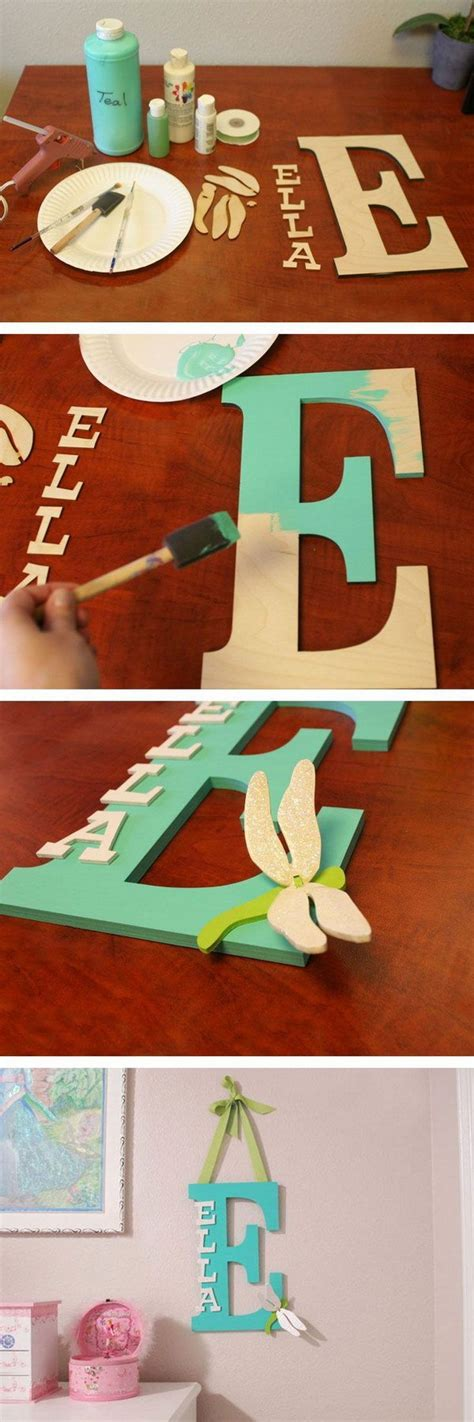 pretty diy decorative letter ideas tutorials listing