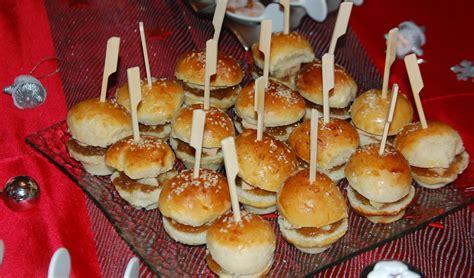 herve cuisine mini burger au foie gras maman ça déborde
