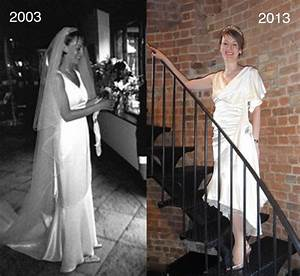 wedding dress upcycled for anniversary party With 10th wedding anniversary dresses