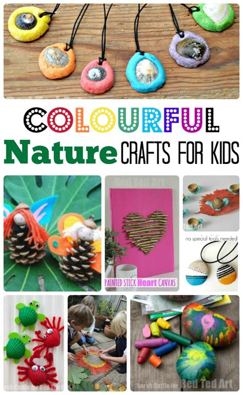 colourful easy nature crafts for ted s 874 | Colourful Easy Nature Crafts for Kids